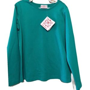 HANNA ANDERSSON NWT GIRLS GREEN TOP SIZE 130 8